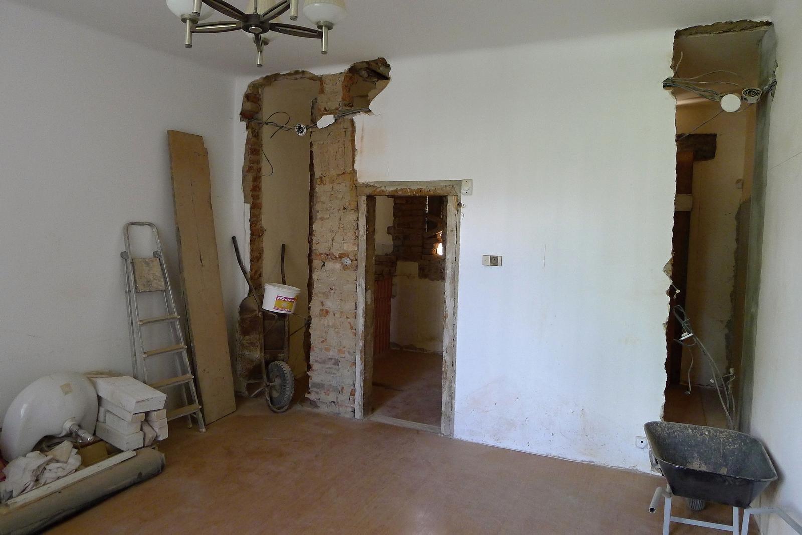 Rekonstrukce našeho domečku - Obrázek č. 36