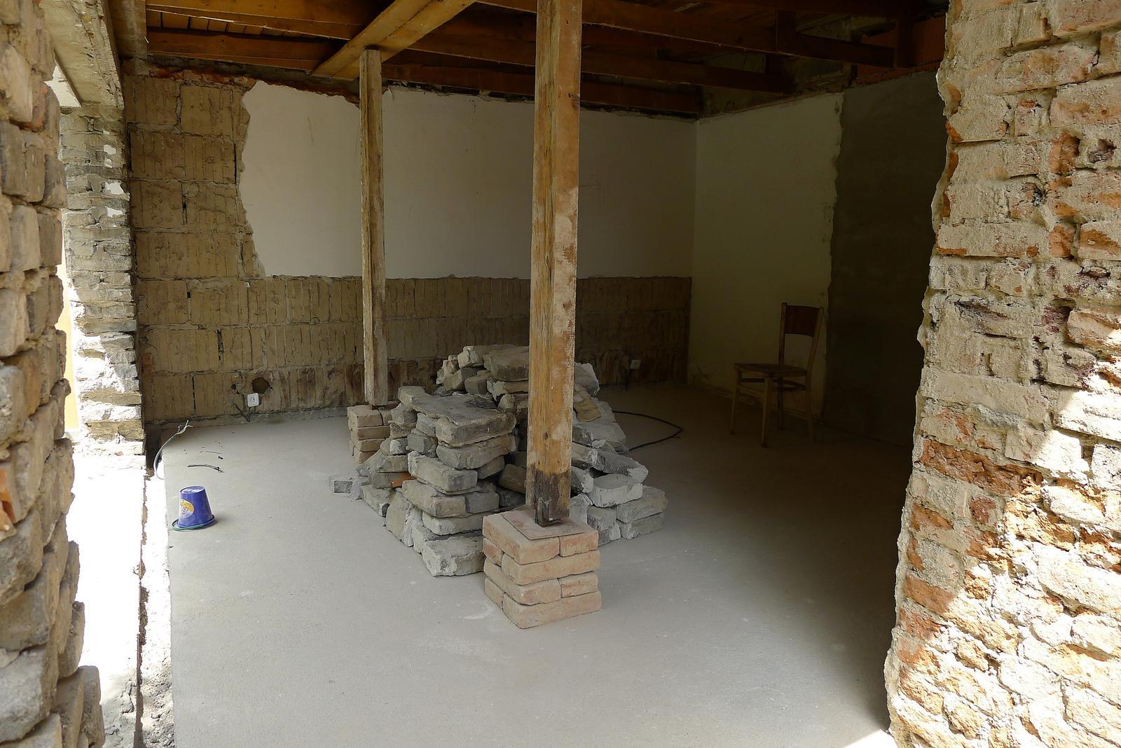 Rekonstrukce našeho domečku - Obrázek č. 49