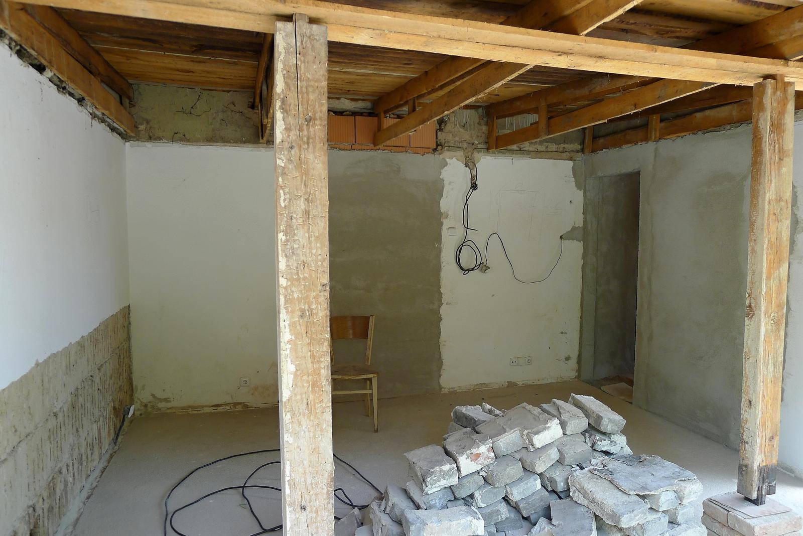 Rekonstrukce našeho domečku - Obrázek č. 50