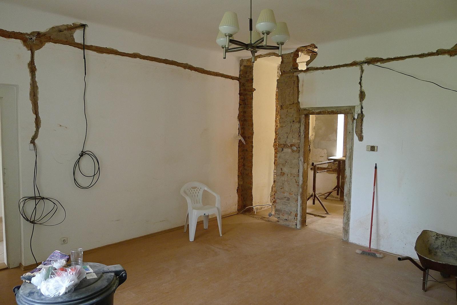 Rekonstrukce našeho domečku - Obrázek č. 51