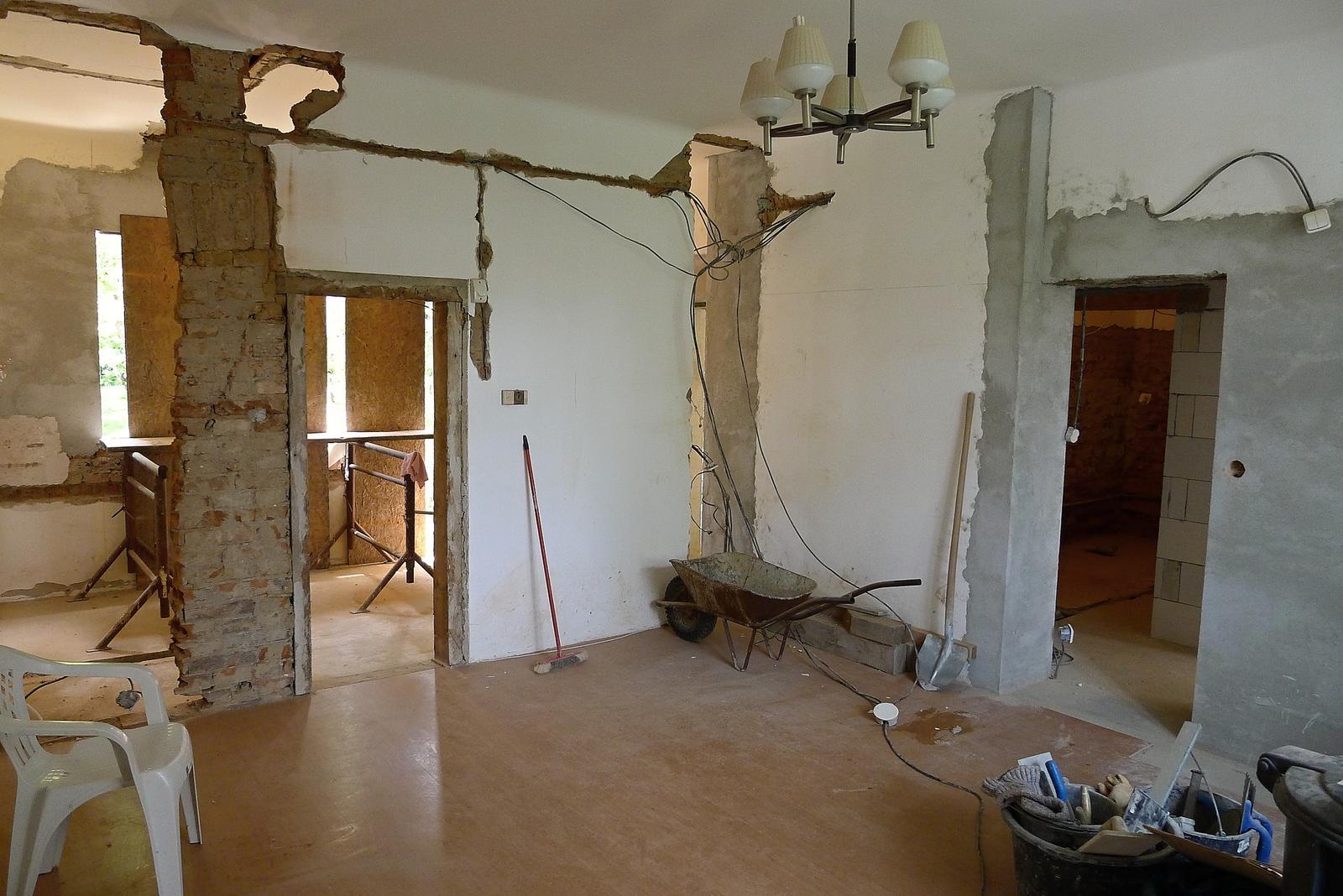 Rekonstrukce našeho domečku - Obrázek č. 52