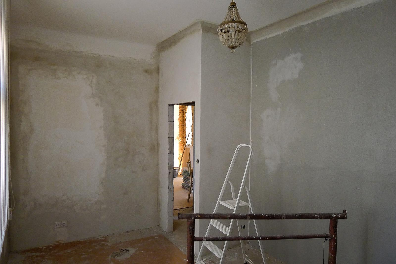 Rekonstrukce našeho domečku - ložnice