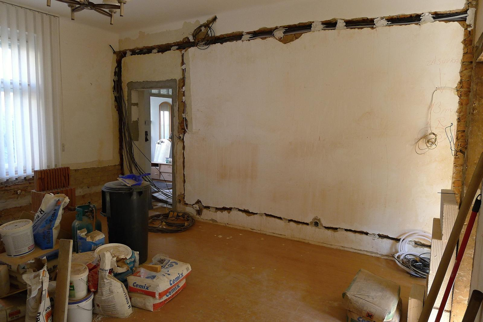 Rekonstrukce našeho domečku - Obrázek č. 86