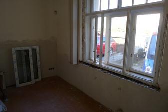 ložnice - výměna oken
