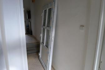 nové dveře na zahradu