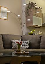 nová lampa v obýváku