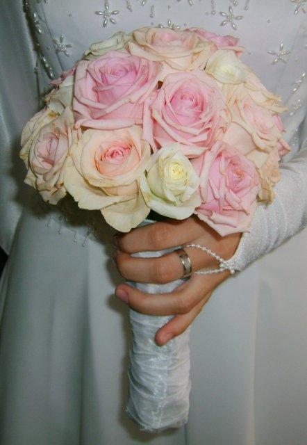 Prípravy - Betty a Peter - ružové s bielim. je to jemné a pekné