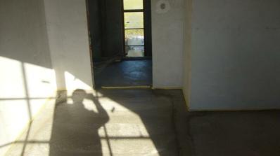 pohľad zo Sofiinej izby na schodisko