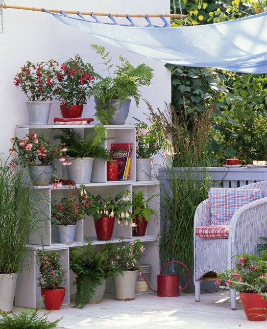 Balkonov a terasov z ti ie album u vate a veruska4444 for Jardines en espacios pequenos