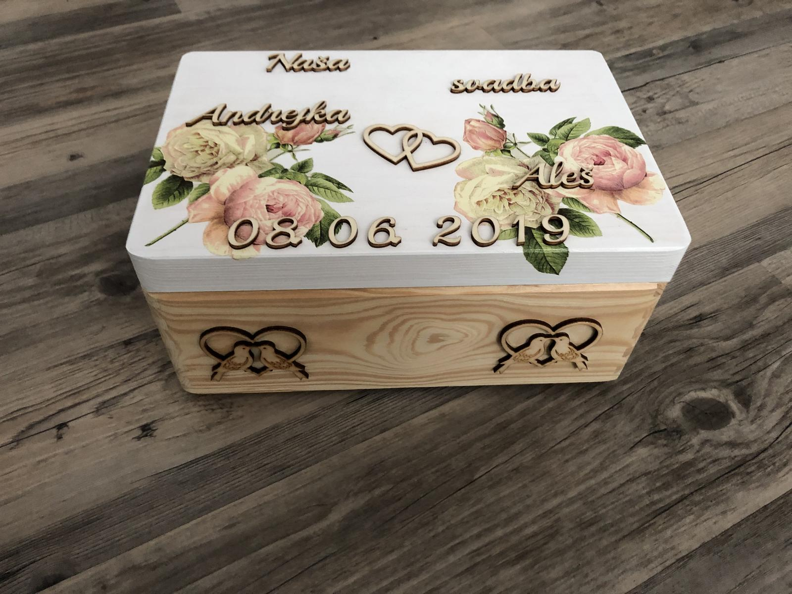 Krabica spomienok - Obrázok č. 1