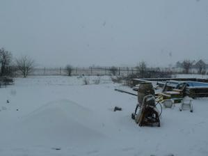 takto to bude vyzerat z terasy....v zime, v lete bez snehu :-)