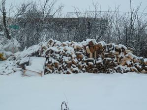 budeme musiet vymysliet nejaku drevarnicku na drevo do krbu.