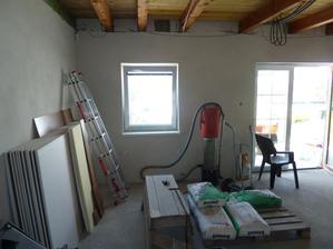 potery a omietky hotove. priprava na izolovanie stropu a sadrokarton
