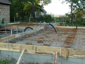 priprava salovania na zajtrajsie betonovanie.