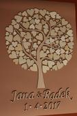 Svatební strom - A2,