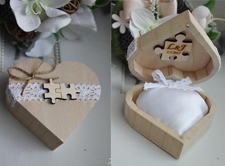Krabička na prstýnky s puzzliky  - Obrázek č. 1