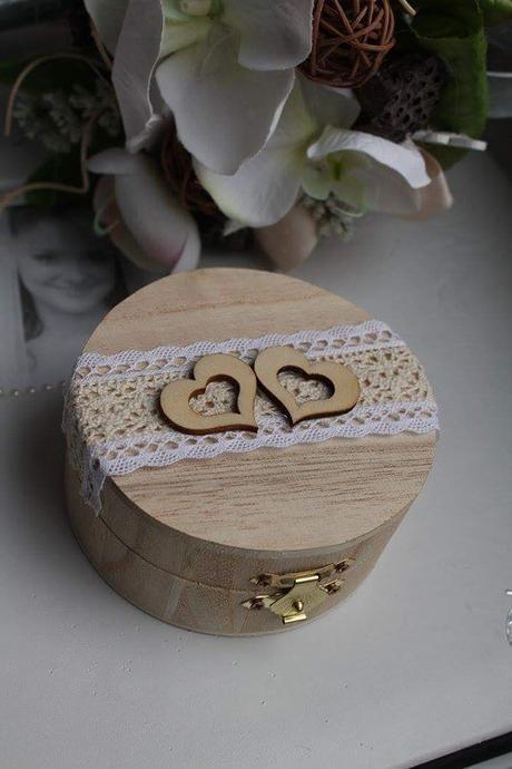 Dřevěná krabička  - Obrázek č. 1