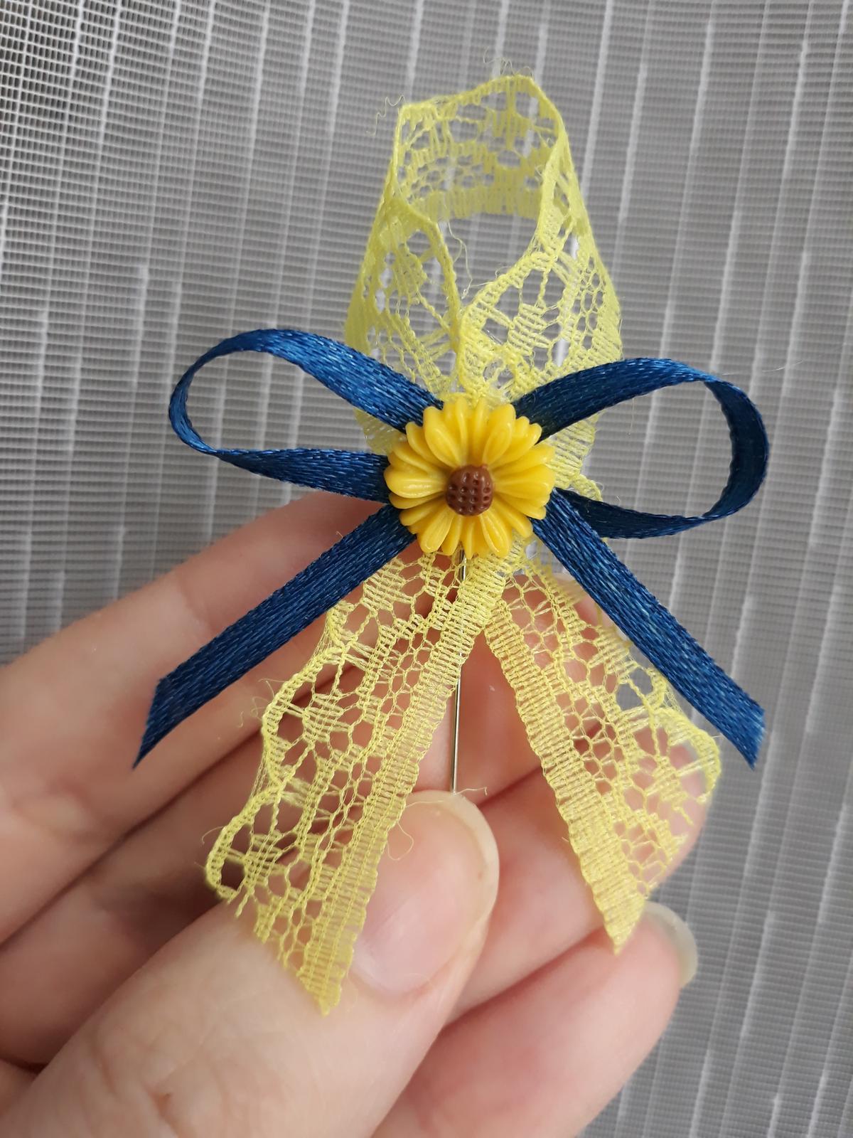 Vyvazek se slunečnici  - Obrázek č. 1
