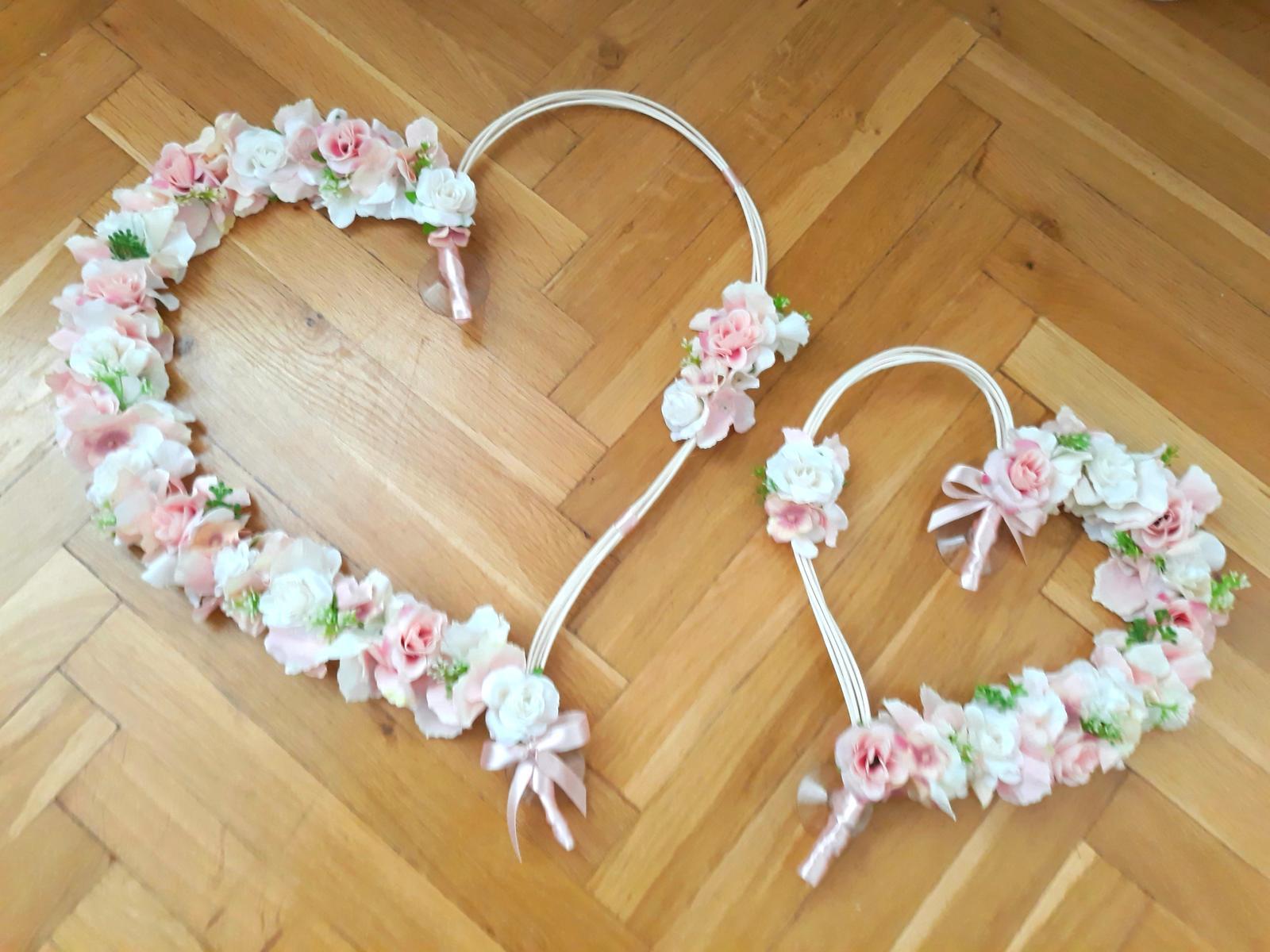 Srdce na svatební auto  - Obrázek č. 1