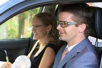 hlavna asistentka Lenka s vodičom a bráškom Peťom v jednej osobe