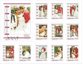 Kalendář - dáreček rodičům pod stromeček :-)