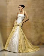 Náherné svatební šaty - svatební salon Marcipán Lidice
