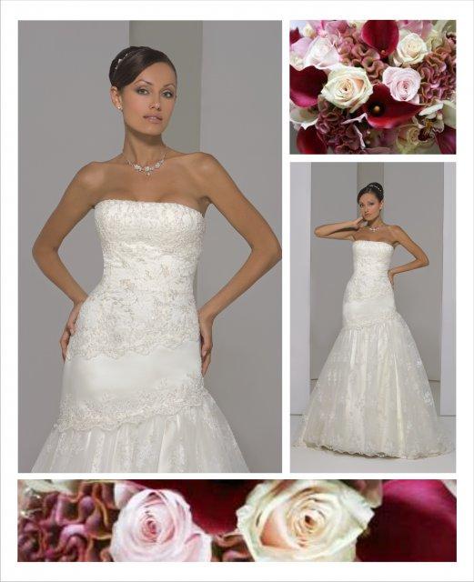 Svatební inspirace - Dokonalé šaty - mé vysněné :-) Sv. salon Marcipan