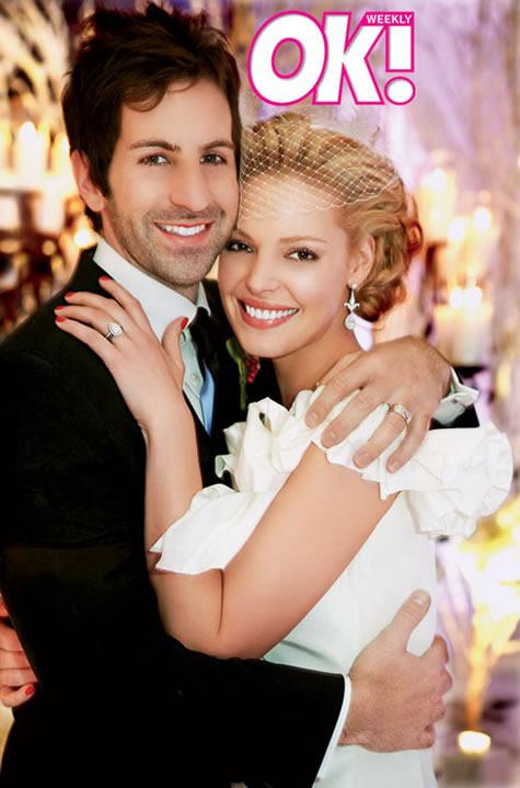 Svatby celebrit - Katherine Heigl a Josh Kelley (2007)