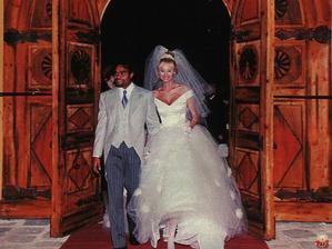 Adriana Sklenarikova a Christian Karembeu