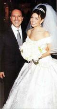 Thalia a Tommy Mottola