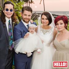 Jack Osbourne a Lisa Stelly (2012)
