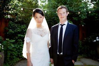 Priscilla Chan a Mark Zuckerberg (2012)