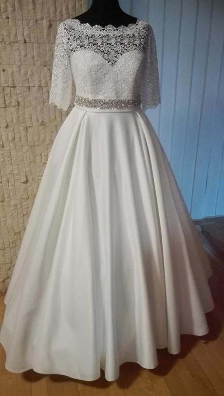 Svadobné šaty pre nízku nevesticku - Obrázok č. 1