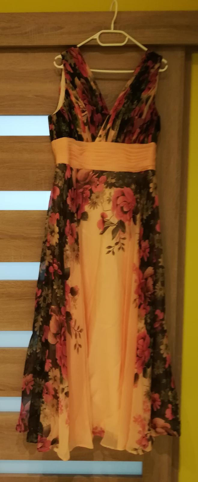 Spoločenské/popolnocne šaty v.42 - Obrázok č. 4