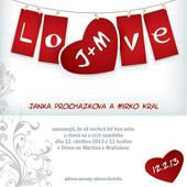 Kreativní svatební oznámení,