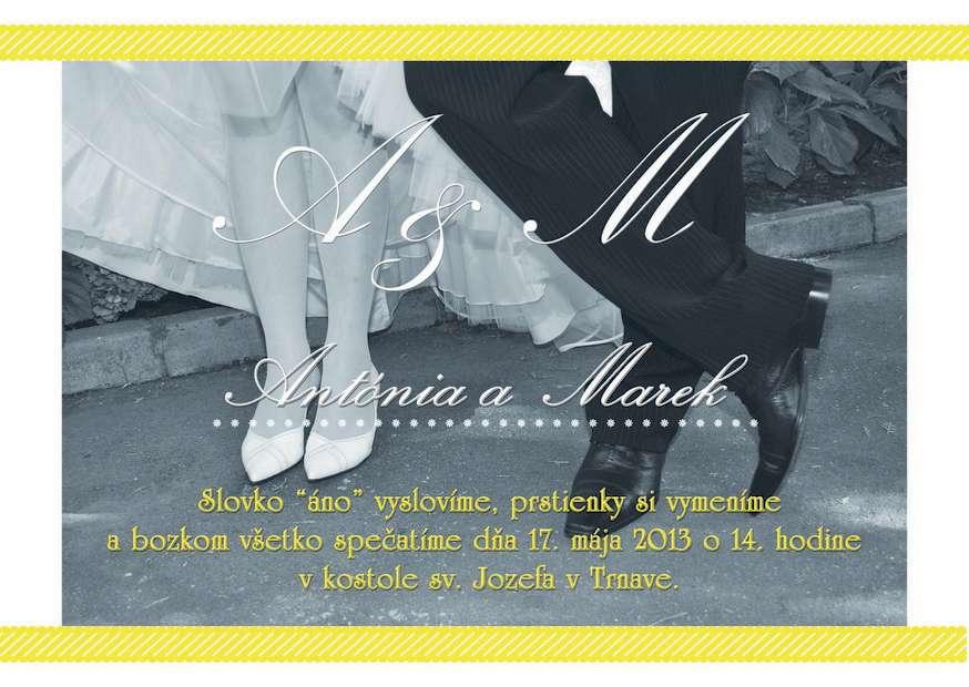 Kreatívne svadobné oznámenia za super cenu - Obrázok č. 3