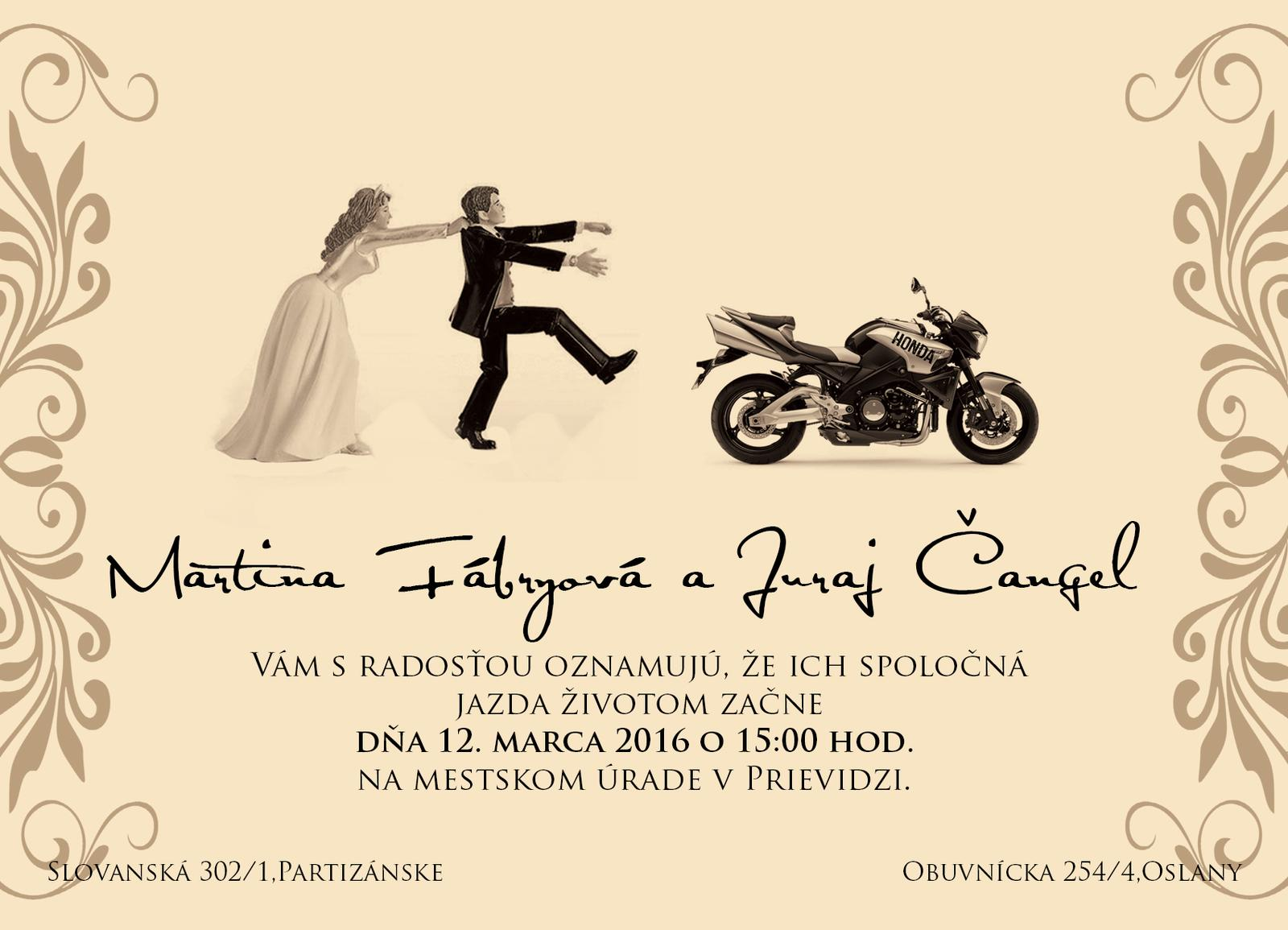 Kreatívne svadobné oznámenia - Obrázok č. 4