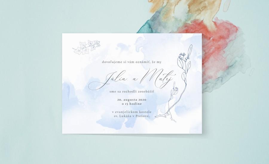 Elegantné svadobné oznámenia - Obrázok č. 3