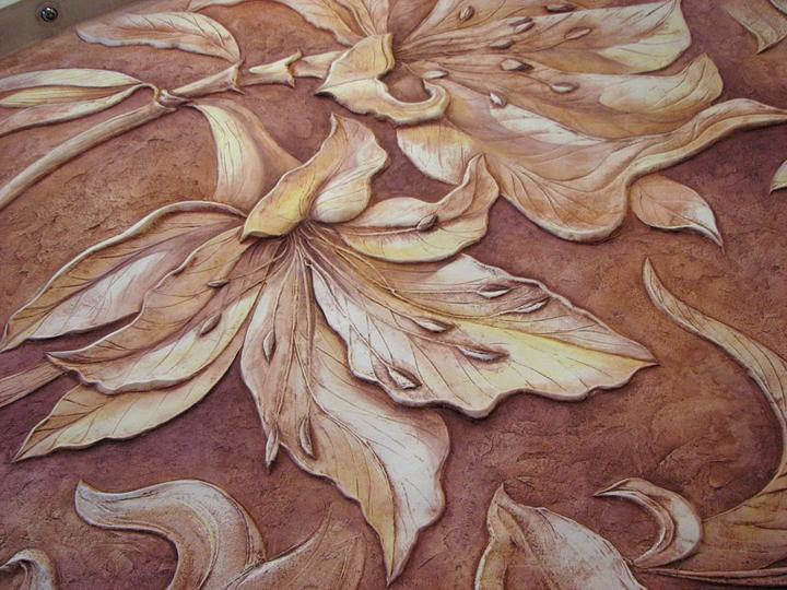 Reliefna malba nielen na stenu... - Obrázok č. 35