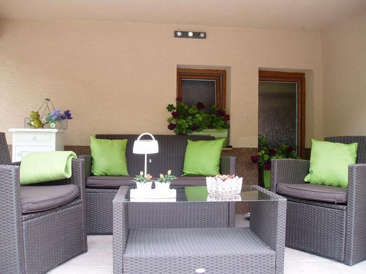 Súčasť domu-záhrada alebo, zelená je dobrá... - Obrázok č. 1