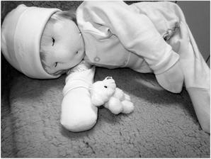 trošku nevydarený pokus o waldorfskú bábiku....
