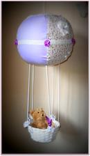 lietajúci balón vnučke do izbičky.....