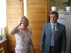 jednu na posilněnou - rodiče nevěsty