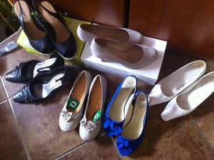 Mamka nevedela, jake boty k satum, tak si jich radeji koupila dostatek:))