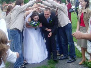 12.8. se vdávala moje svědkyně a byla to super svatba