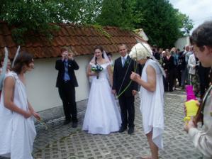 první novomanželské úkoly...