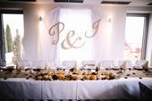 Rustikálny svadobný set dekorácií,