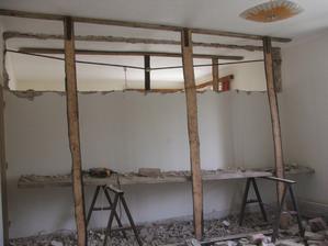 búranie priečky medzi dvoma izbami