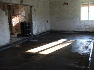 nová izolácia v nepodpivničenej časti domu