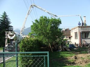 betónovanie nového venca